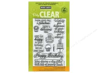 Birthdays Stamps: Hero Arts Poly Clear Stamp Yummy Treats