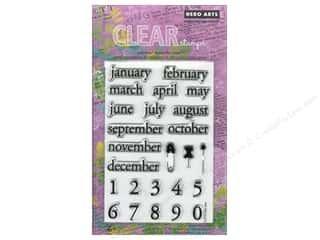 Calendars Clear: Hero Arts Poly Clear Stamp Make A Date