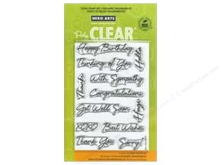Hero Arts Poly Clear Stamp Set Say It All