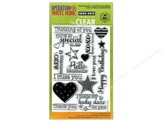 Hero Arts Poly Clear Stamp Set Year Round Sentiments