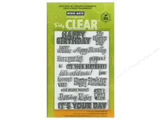 Birthdays Stamps: Hero Arts Poly Clear Stamp It's Your Day
