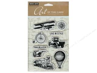 Clearance Art Impressions Rubber Stamp: Hero Arts Cling Stamp Art Of The Card Past Times