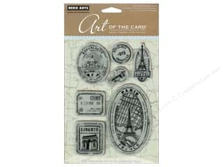 Rubber Stamping Vacations: Hero Arts Cling Stamp Art Of The Card Paris France