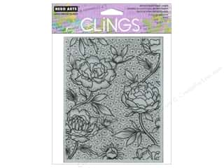Hero Arts Cling Stamp Large Flower Background
