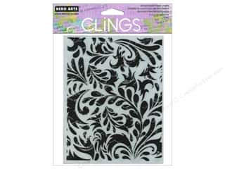 Stamps inches: Hero Arts Cling Stamp Leaf and Floral Background