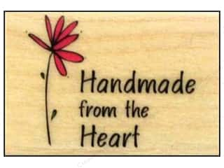 Rubber Stamping $6 - $8: Hero Arts Rubber Stamp Handmade From The Heart