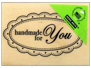 Rubber Stamping paper dimensions: Hero Arts Rubber Stamp Handmade