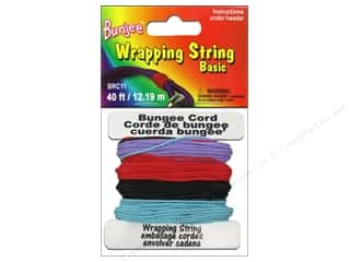 Pepperell Bungee Wrap String Purple/Red/Light Blue/Black