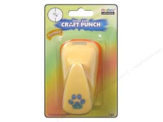 Uchida Clever Lever Craft Punch 5/8 in. Paw