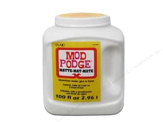 Glues, Adhesives & Tapes Doll Making: Plaid Mod Podge Matte 100oz