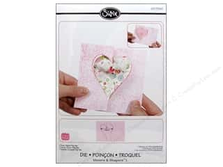 Valentine's Day Dies: Sizzix Movers & Shapers L Die Card Heart Flip Its by Stephanie Barnard