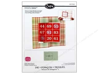 Sizzix Movers & Shapers L Die Card Square Flip-its