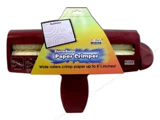 Crimpers: Uchida Corrugator Paper Crimper  8.5x11 Bubble
