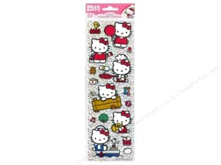 Stickers Dimensional Stickers: SandyLion Sticker Tall Dimensional Glitter Hello Kitty