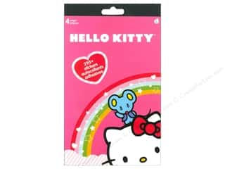 Stickers $4 - $5: SandyLion Sticker Pad 4 page Hello Kitty