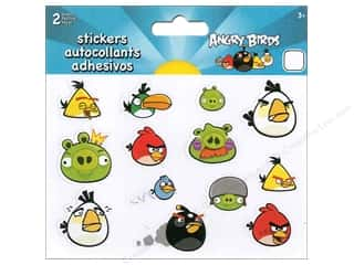 Labels Animals: SandyLion Sticker Mini Foldover Angry Birds