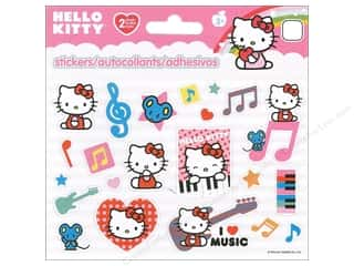 SandyLion Sticker Mini Foldover Hello Kitty