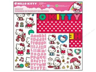 "Crafting Kits $12 - $16: SandyLion Page Kit 12""x 12"" Hello Kitty"