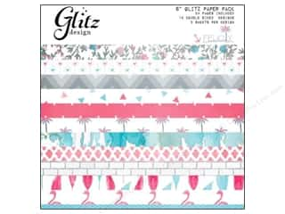 "Coredinations Designer Papers & Cardstock: Glitz Design Paper Pad Felicity 6""x 6"""