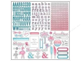 "Kimberell Designs $12 - $14: Glitz Design Sticker Felicity 12""x 12"" Alpha & Accents"