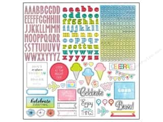 "Kimberell Designs $12 - $14: Glitz Design Sticker Brightside 12""x 12"" Alpha & Accents"