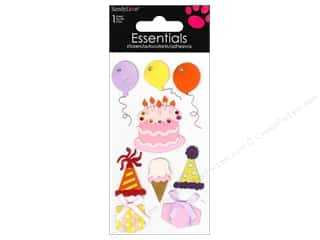 Rhinestones Birthdays: SandyLion Sticker Essentials Birthday Feminine