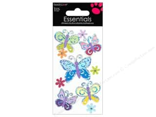 Insects Stickers: SandyLion Sticker Essentials Butterflies