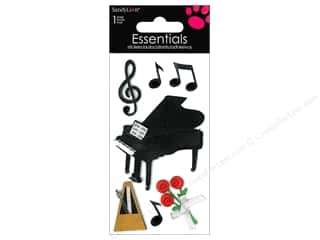Music & Instruments Stickers: SandyLion Sticker Essentials Piano