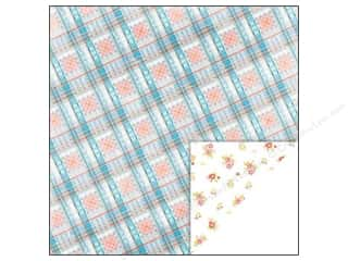 Glitz Design 12 x 12 in. Paper Brightside Plaid (25 piece)