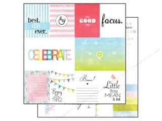 Paper Pieces $6 - $10: Glitz Design 12 x 12 in. Paper Brightside Bits & Pieces (25 pieces)