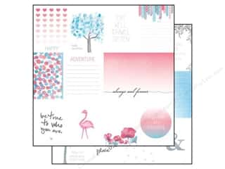 Glitz Design 12 x 12 in. Paper Felicity Bits & Pieces (25 piece)