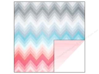 Glitz Design 12 x 12 in. Paper Felicity Chevron (25 piece)