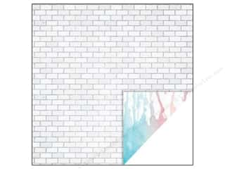 Glitz Design 12 x 12 in. Paper Felicity Brick (25 piece)