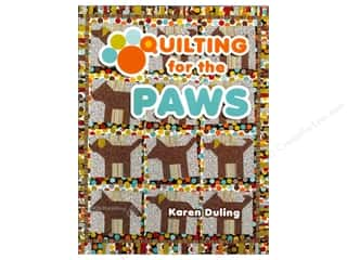 Pets $2 - $4: American Quilter's Society Quilting for the Paws Book by Karen Duling