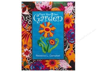 Appliques $3 - $13: American Quilter's Society Plant Your Own Garden Book by Rebecca Campbell