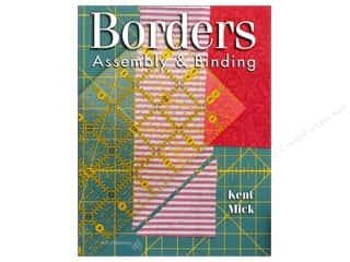 American Quilter's Society $8 - $10: American Quilter's Society Borders Assembly & Binding Book by Kent Mick
