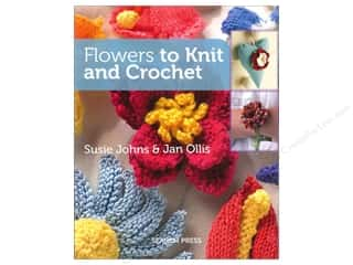 Books Flowers: Search Press Flowers to Knit and Crochet Book