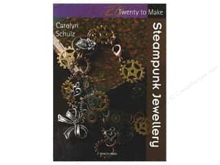 Hot off the Press Beading & Jewelry Books: Search Press Twenty To Make Steampunk Jewellery Book