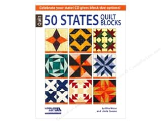 Books & Patterns Vacations: Leisure Arts 50 States Quilt Blocks Book