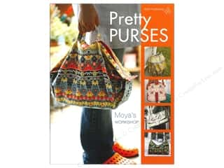 Books & Patterns American Quilter's Society: American Quilter's Society Pretty Purses Book by Moya's Workshop
