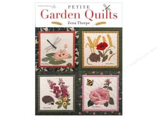 American Quilter's Society Quilting Patterns: American Quilter's Society Petite Garden Quilts Book by Zena Thorpe
