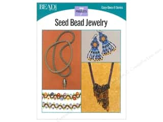Kalmbach Publishing Co $18 - $22: Kalmbach Easy Does It Seed Bead Jewelry Book