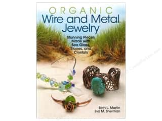 Kalmbach Publishing Co: Kalmbach Organic Wire And Metal Jewelry Book