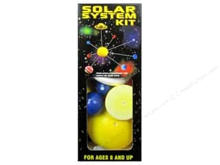 Styrofoam Kids Crafts: Smoothfoam Solar System Kit Painted