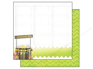Summer Hot: Bo Bunny 12 x 12 in. Paper Lemonade Stand Collection Lemonade Stand (25 pieces)