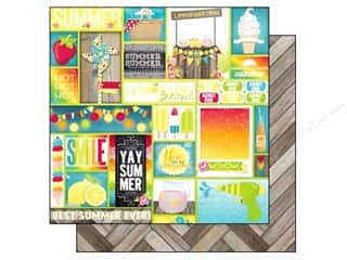 Bo Bunny 12 x 12 in. Paper Lemonade Stand Block Party (25 piece)