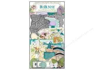 Scrapbooking Angels/Cherubs/Fairies: Bo Bunny Noteworthy Enchanted Garden