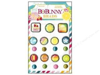 Brads Clearance Crafts: Bo Bunny Brads 19 pc. Lemonade Stand
