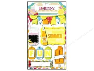 2013 Crafties - Best Adhesive: Bo Bunny Cardstock Stickers Layered Lemonade Stand