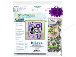 Bo Bunny Project Kit Enchanted Garden Fairytale Book
